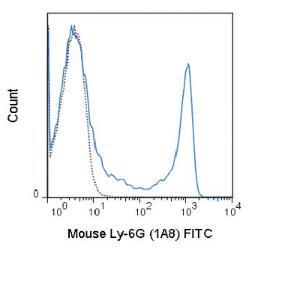 Anti-Ly-6G Rat Monoclonal Antibody (FITC (Fluorescein)) [clone: 1A8]