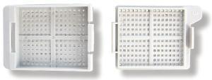 Biopsie- und Einbettkassetten, Q Path® MicroStar II, im Magazin