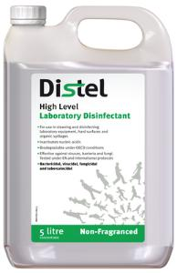 Disinfectants, High Level Laboratory Surface Disinfectant, Distel