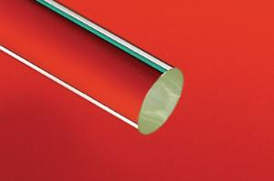 Glass rods, borosilicate glass