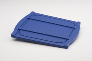 Plastic cover, blue