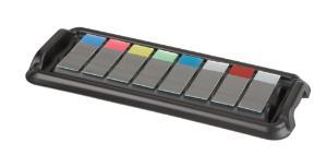 Slide staining trays