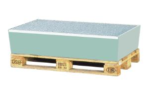 Pallets and sumps for drums and containers
