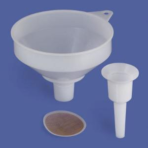 Accessories for powder funnels