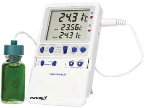 Thermometer mit Dreifach-Anzeige, Traceable®