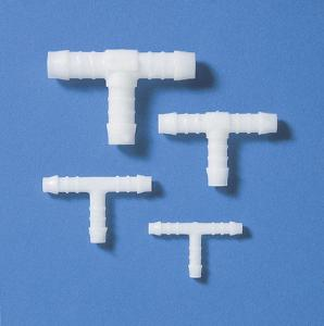 Tubing connectors, T-shaped, POM