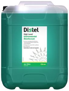 Disinfectants, High Level Environmental Disinfectant, Distel