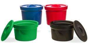 Ice buckets, round, with lid, Magic Touch 2™