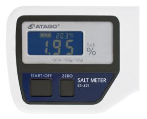 Salt meter, handheld, ES-421