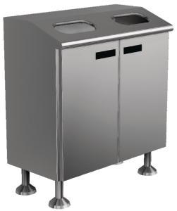 Disposal cabinet