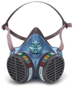 Einweg-Halbmasken gegen Gase, Dämpfe und Partikel FFA1/FFA2/FFA3, Serie5000
