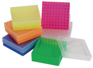 Aufbewahrungsboxen für Probenflaschen